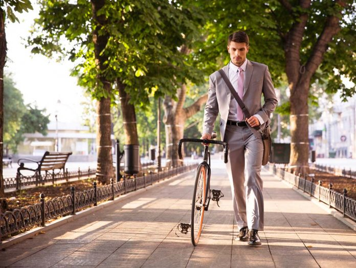 Fahrradweg-Kommune