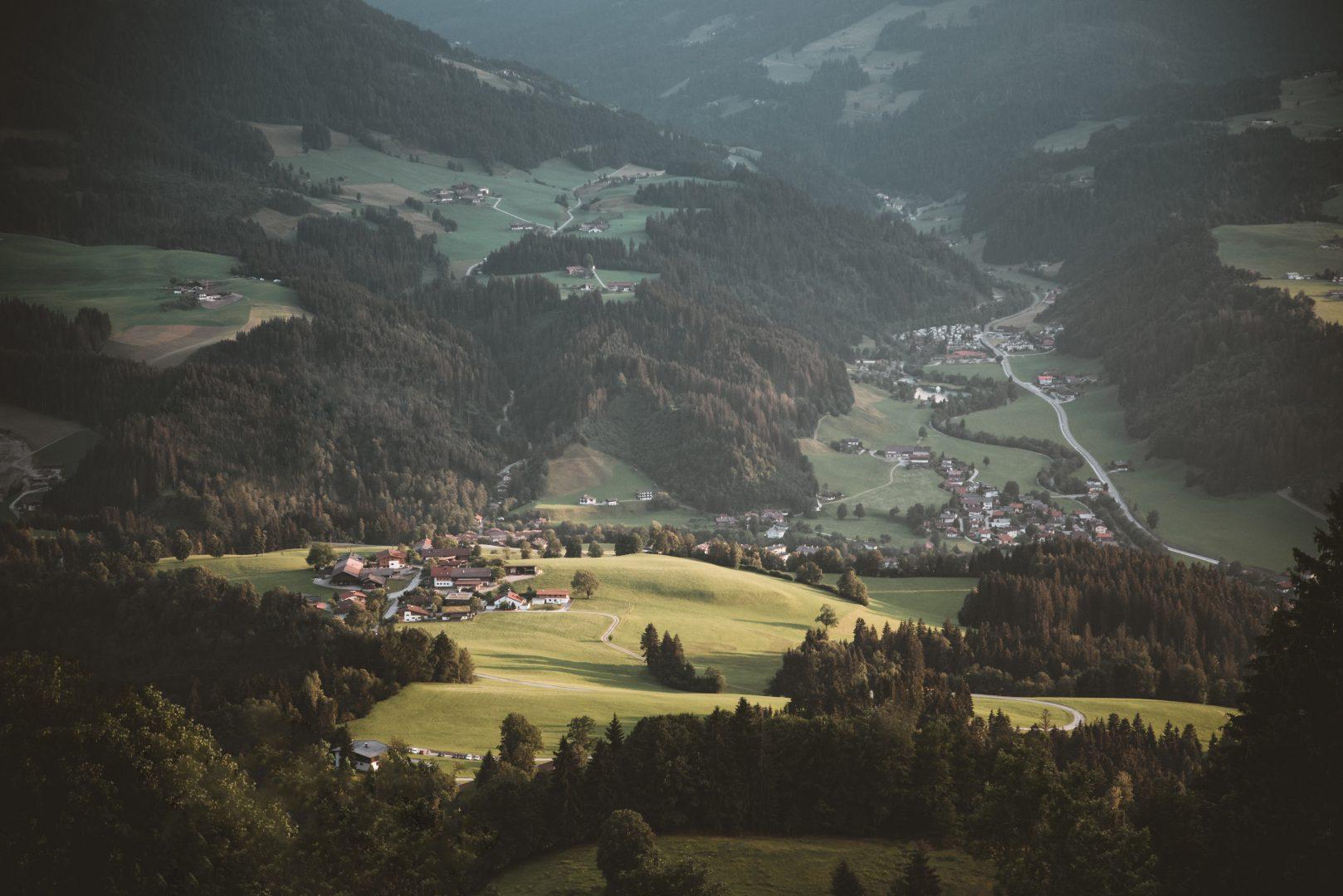 Dörfer am Land