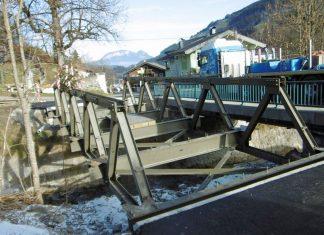 Behelfsbrücken Tirol