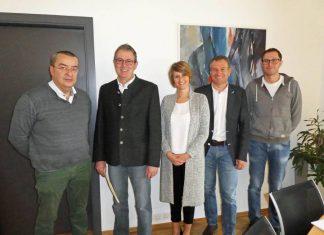Angelobung des neuen Vizebürgermeisters von Tannheim