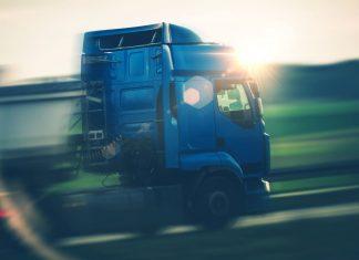 Lkw-Verkehr auf Autobahnen