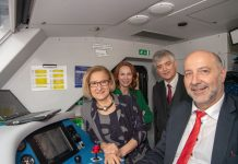 Zug mit Akku feierte in Wiener Neustadt Premiere