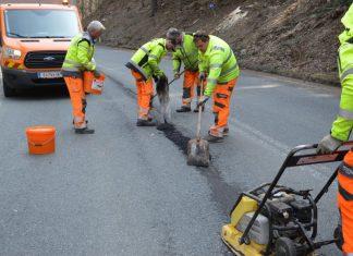 Beseitigung der Winterschäden auf Salzburgs Straßen